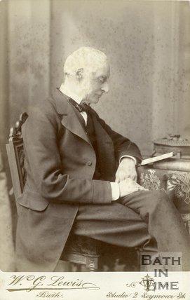 Portrait of Henry Duncan Skrine (1815-1901)
