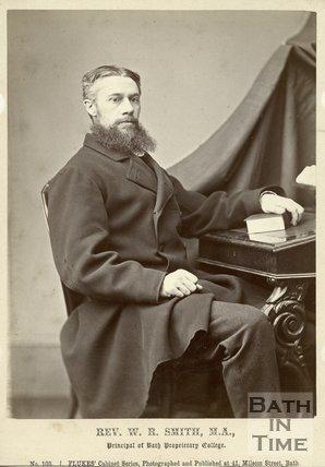 Portrait of Reverend W.R. Smith