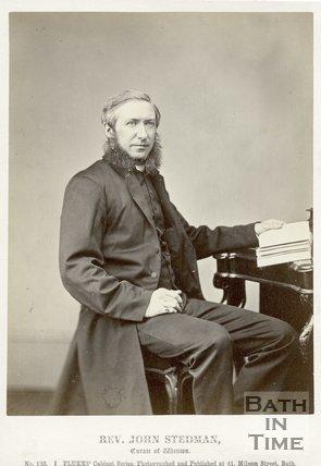 Portrait of Reverend John Stedman