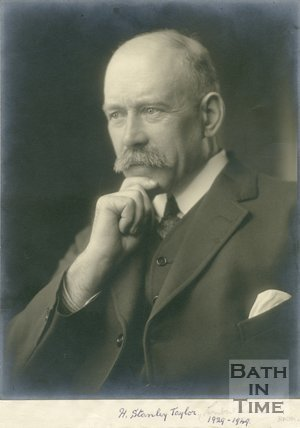 Portrait of H. Stanley. Taylor