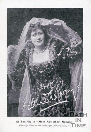 Portrait of Miss Ellen Terry