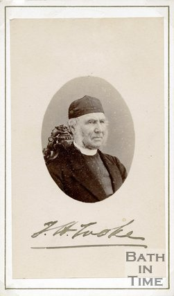 Autographed portrait of Reverend T.H. Tooke
