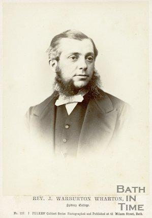 Portrait of Reverend J.. Warburton Wharton