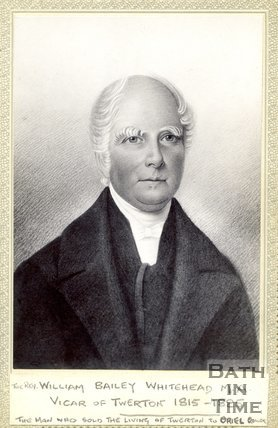Portrait of Reverend William Bailey Whitehead
