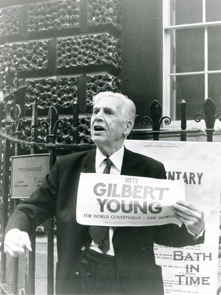 Portrait of Gilbert Young, 1983