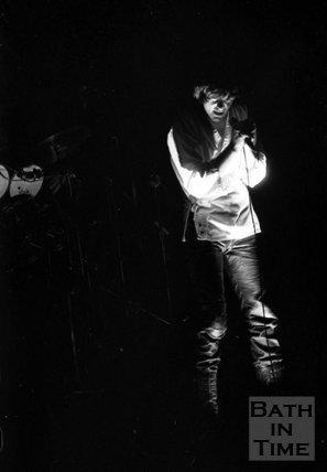 Peter Gabriel in concert, Bath Sports Centre, 1 November 1977
