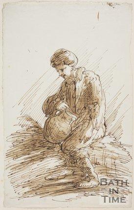 Old Barker's Beggar Boy, by Thomas Barker  (1769 - 1849)