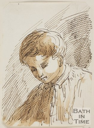 Study of a boy by Thomas Barker (1769 - 1849)