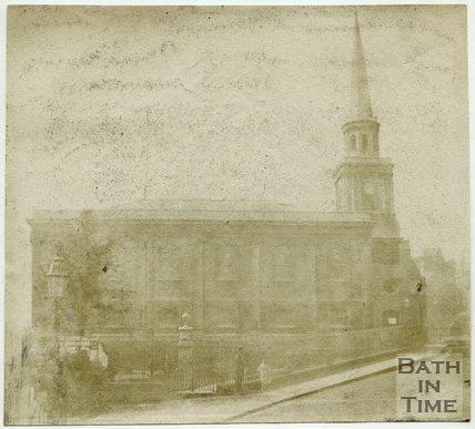 St. Swithin's Church, Walcot, Bath, 1849
