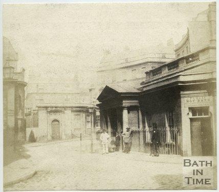 The Hot Bath, Bath, 1849