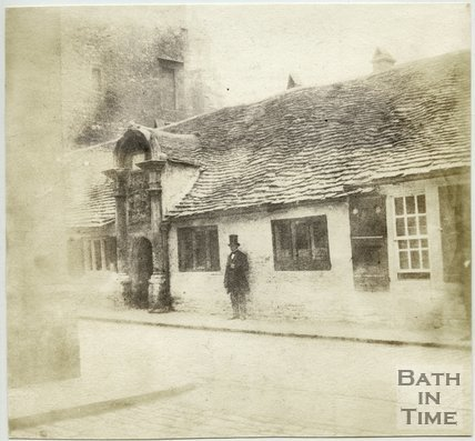 Bellott's Hospital, Beau Street, Bath, 1849