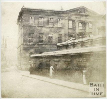 The United Hospital, ( now the Gainsborough Hotel) Beau Street, Bath, 1849