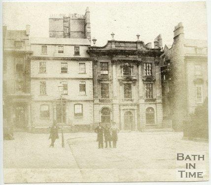 Nassau House, Orange Grove, Bath, 1849