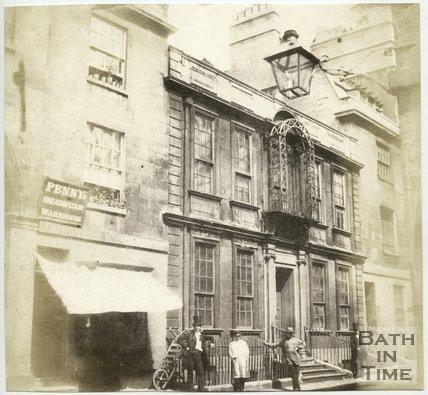 General Wolfe's House in Trim Street, Bath, 1849