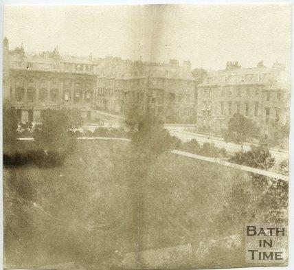 Queen Square, Bath, 1849