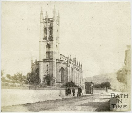 St. Saviour's Church, Larkhall, Bath, 1849