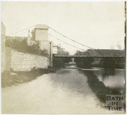 Dredge's Victoria Bridge, Bath, 1849