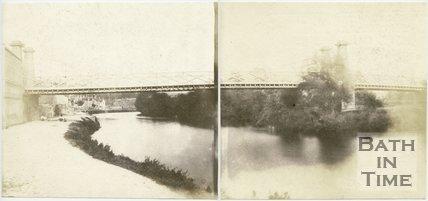 Motley's Bridge, Bath, Panorama, 1849
