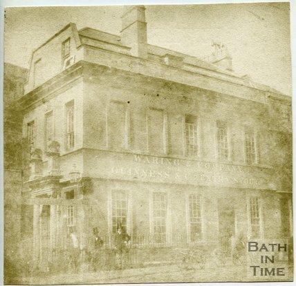 The Palace of Beau Nash, Sawclose, Bath, 1849