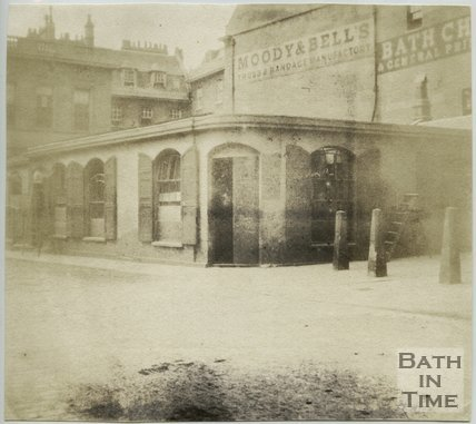 The Kingston Baths, Bath, 1849
