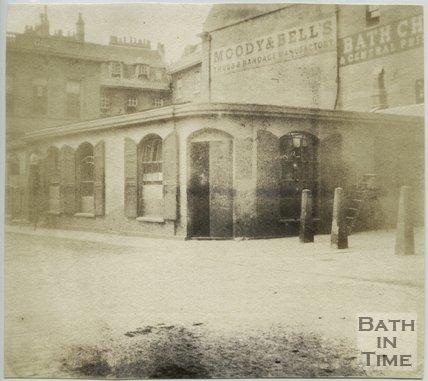 The Kingston Baths, Bath, 1849