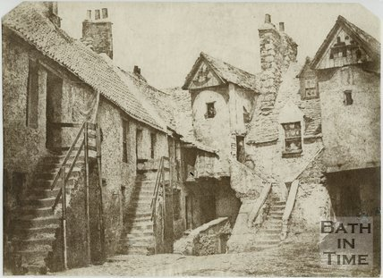 White Horse Close, Edinburgh, c.1850