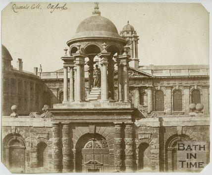 Queen's College, Oxford, Entrance Gateway, 9 April 1843
