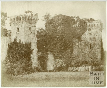 Raglan Castle, Gwent, c.1850
