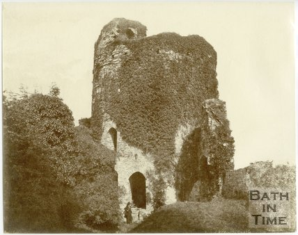 Kidwelly Castle, Carmarthenshire, Wales, c.1850s