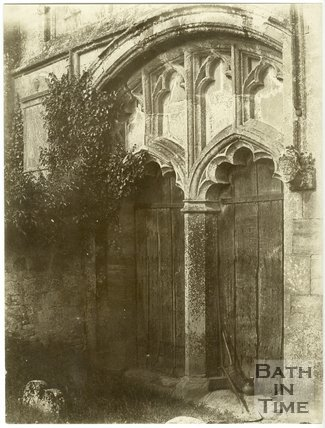 West Doorway, Edington Church, Wiltshire, c.1850
