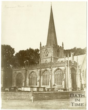 Bromham Church, Wiltshire, c.1850s