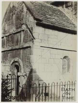 The Saxon Church, Bradford-on-Avon, Wiltshire, c.1870