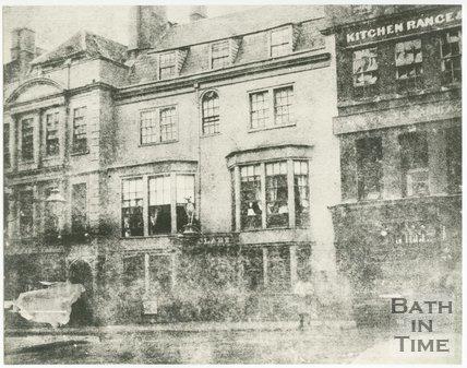 Greyhound Hotel, High Street, Bath