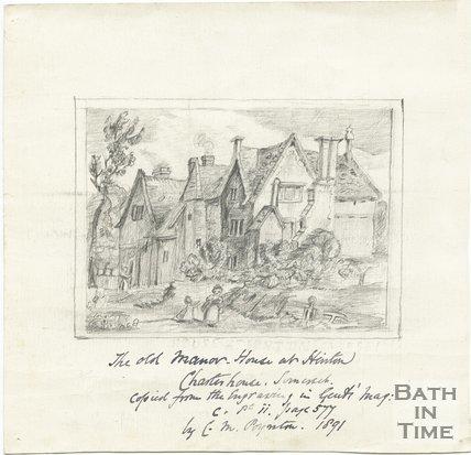 The old Manor at Hinton Charterhouse, near Bath, 1891
