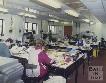 Inside the Cedric Chivers works at Pucklechurch, c.1990s