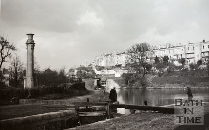 Widcombe Locks, Bath c.1960