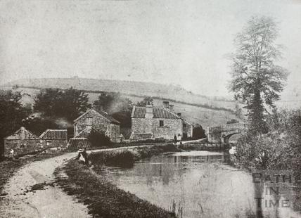 Fosseway Bridge, Dunkerton c.1890
