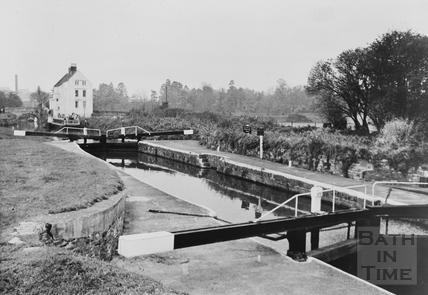 Keynsham Lock No. 2 c.1960