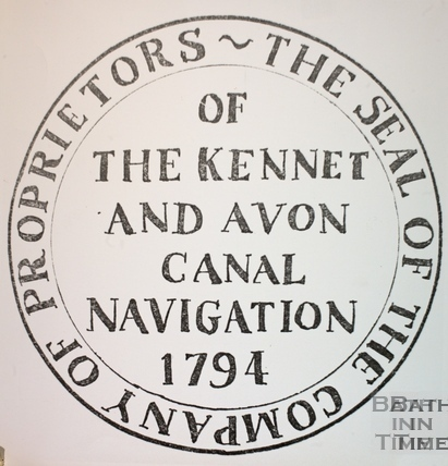 The Seal of the Kennet and Avon Canal 1794