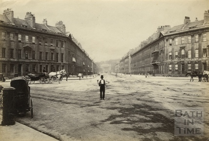 Laura Place, Bath c.1870