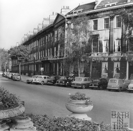 Laura Place, Bath c.1960