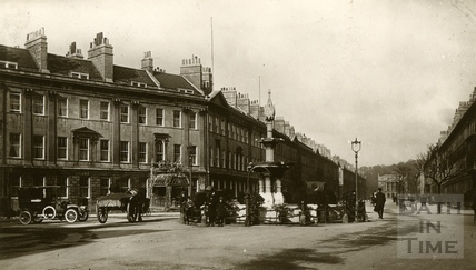 Laura Place, Great Pulteney Street, Bath c.1910