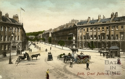 Great Pulteney Street and Laura Place, Bath 1907