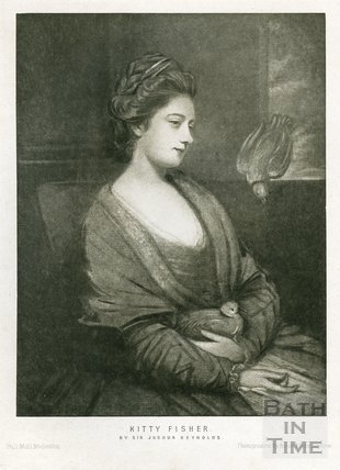 Kitty Fisher by Sir Joshua Reynolds
