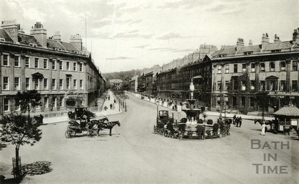 Laura Place, Great Pulteney Street, Bath c.1900