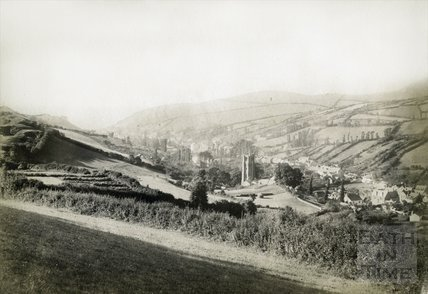 View of Combe Martin, Devon c.1880