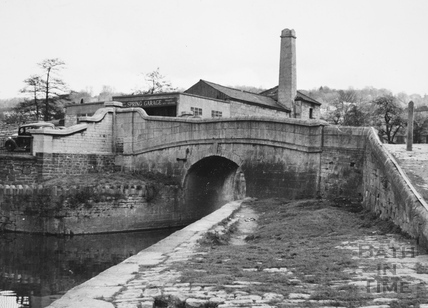 Bridge over the Kennet and Avon Canal, Spring Gardens Road, Widcombe, Bath 1956