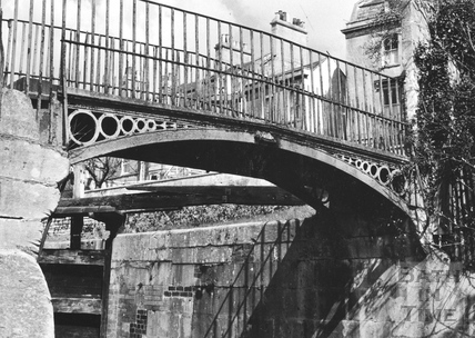 Bridge at Top Lock, Bathwick, Bath 1956