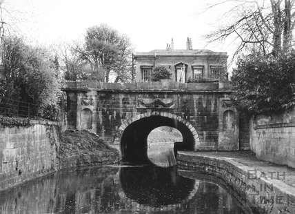 Upstream portal of Sydney Road tunnel, Bathwick, Bath 1956