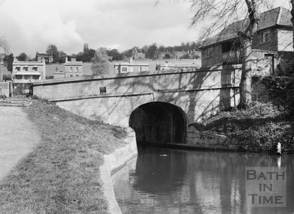 Horseshoe Walk Bridge, Bathwick, Bath 1956